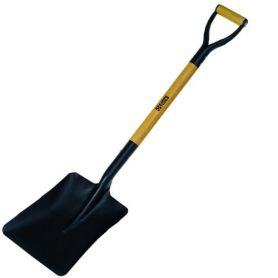 Karpatools square shovel with handle ring